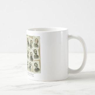 Comandantes confederados de la guerra civil taza de café