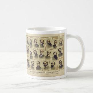 Comandantes confederados famosos de la guerra taza clásica