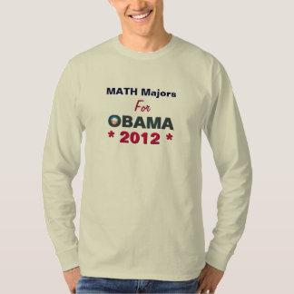 Comandantes de matemáticas para la camiseta 2012 remeras