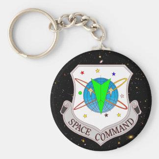 Comando 2,0 del espacio llavero redondo tipo pin