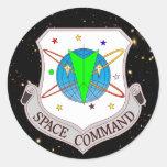 Comando 2,0 del espacio pegatina