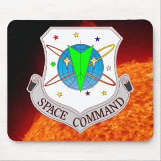 Comando 2 0 del espacio alfombrilla de ratón