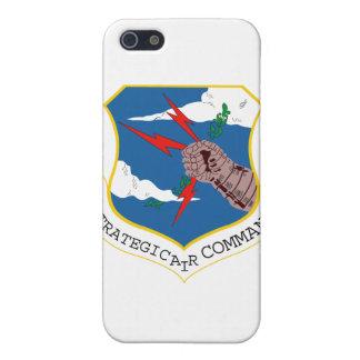 Comando aéreo estratégico iPhone 5 carcasas