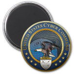 Comando cibernético de los E.E.U.U. Iman Para Frigorífico