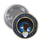 Comando cibernético de los E.E.U.U. Pins