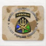 Comando común CSIB de las fuerzas del SOC+SSI Alfombrillas De Raton