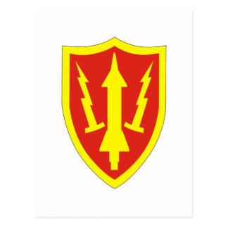 Comando de la defensa aérea del ejército tarjeta postal