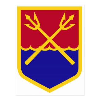 comando de la defensa aérea tarjeta postal