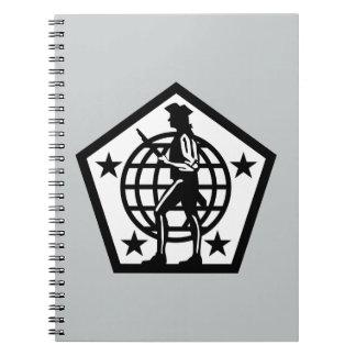 Comando de los recursos humanos del ejército - 2 - libretas espirales