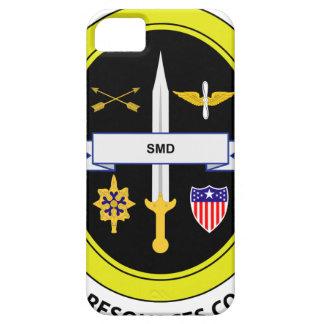 Comando de los recursos humanos del ejército iPhone 5 Case-Mate cárcasa