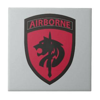 Comando de operaciones especiales África Azulejo Cuadrado Pequeño