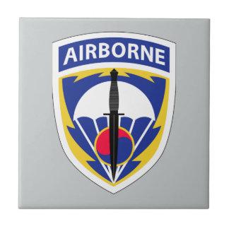 Comando de operaciones especiales Corea Azulejo Cuadrado Pequeño