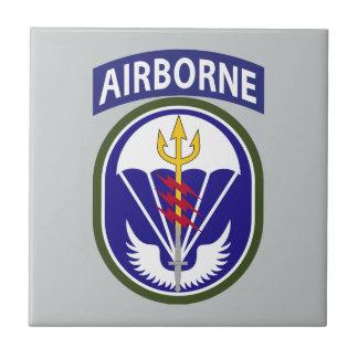 Comando de operaciones especiales del sur azulejo cuadrado pequeño