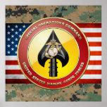 Comando de operaciones especiales del USMC (MARSOC Poster