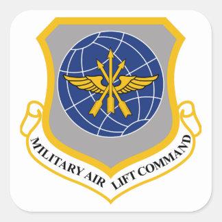 Comando de puente aéreo militar (MAC) Pegatina Cuadrada