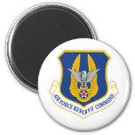 Comando de reserva de la fuerza aérea iman de frigorífico