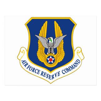 Comando de reserva de la fuerza aérea tarjetas postales