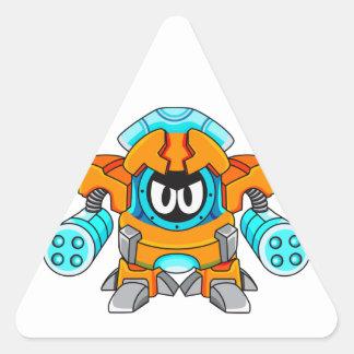 Comando defensivo Valkzorn Calcomanía De Triangulo