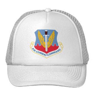 Comando del combate aéreo gorros bordados