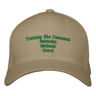 Comando del sitio del entrenamiento gorro bordado