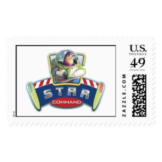 Comando Disney de la estrella Sellos Postales
