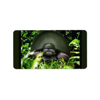 Comando lento - tortuga del ejército