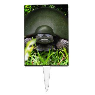 Comando lento - tortuga del ejército palillos de tarta