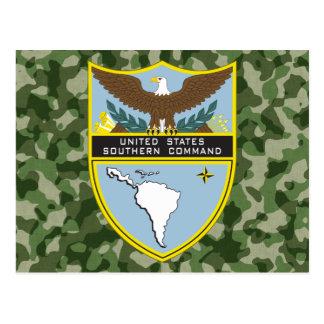 Comando meridional del ejército tarjeta postal