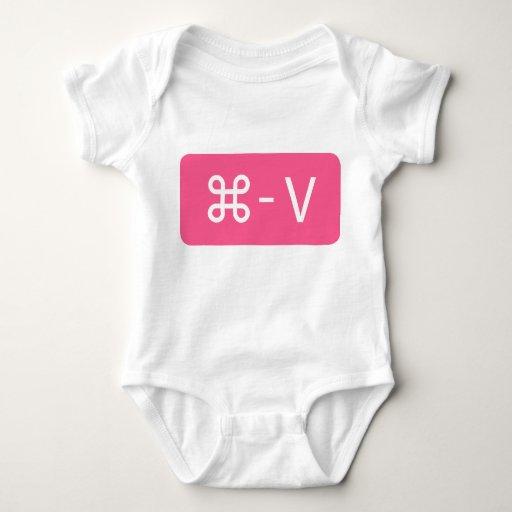 Comando rosado de los gemelos - camisa de la