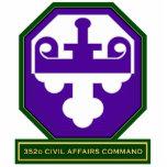 comando SSI de los asuntos civiles 352d Esculturas Fotográficas