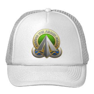 Comando superficial del despliegue y de la distrib gorra