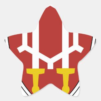 Comando Vietnam del ingeniero Pegatina En Forma De Estrella