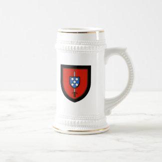 Comandos portugueses del ejército taza de café