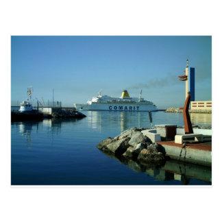 Comarit Ferry Almeria Postcard
