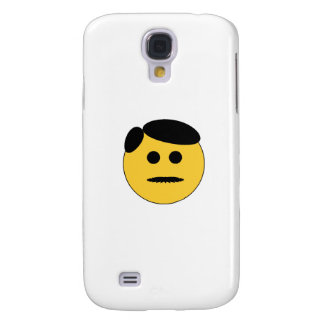 Comb Over Smiley Samsung Galaxy S4 Cover
