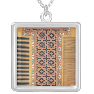 Comb Silver Plated Necklace