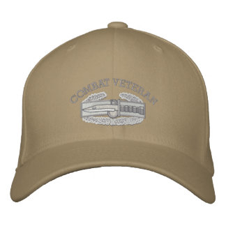 Combat Action Badge, Iraq & Afghanistan Ribbon Hat