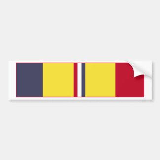 Combat Action Ribbon Bumper Sticker