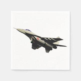 Combat Aircraft Paper Napkins