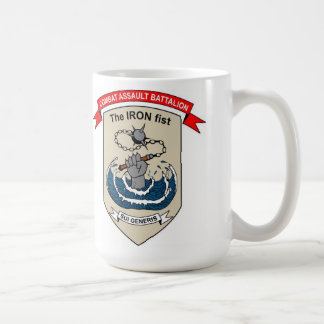 "Combat Assault Battalion ""The Iron Fist"" Coffee Mug"