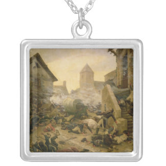 Combat at Cholet or The Suicide of General Silver Plated Necklace