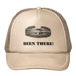 combat badge, BEEN THERE! Trucker Hats