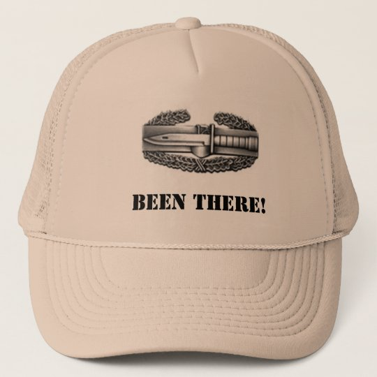 combat badge, BEEN THERE! Trucker Hat