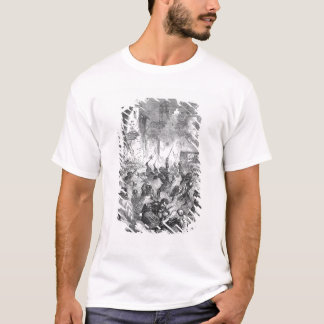 Combat between English and French Knights T-Shirt