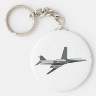 Combat bomber of fighter bombers basic round button keychain