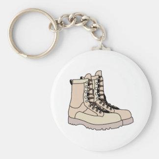 Combat Boots Keychain