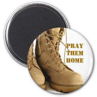 combat boots magnet