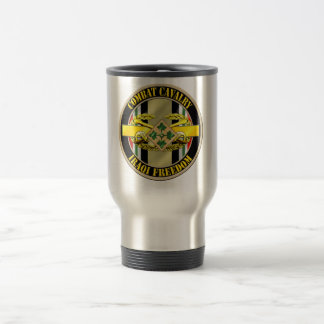 Combat Cavalry Scout OIF 4th ID Travel Mug