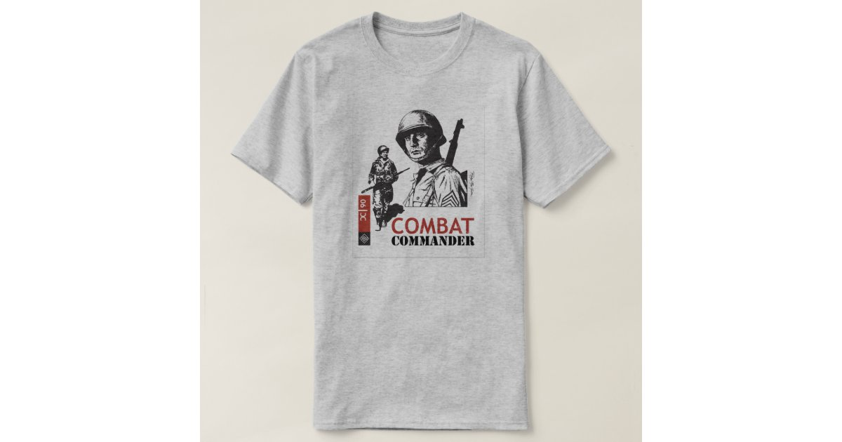 Combat commander custom t shirt zazzle for Zazzle custom t shirts