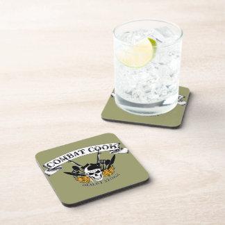 Combat Cook - Desert Storm Drink Coaster